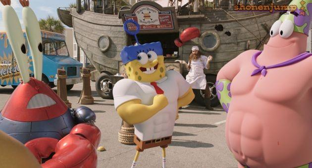 海绵宝宝的好莱坞传奇演员安东尼奥班德拉斯,他饰演坏蛋海盗汉堡胡